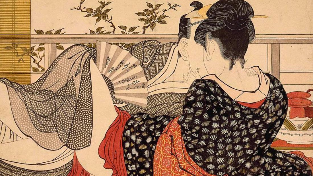 Xuân cung họa: Tình dục và khoái lạc trong nghệ thuật Nhật Bản - Ảnh 2.