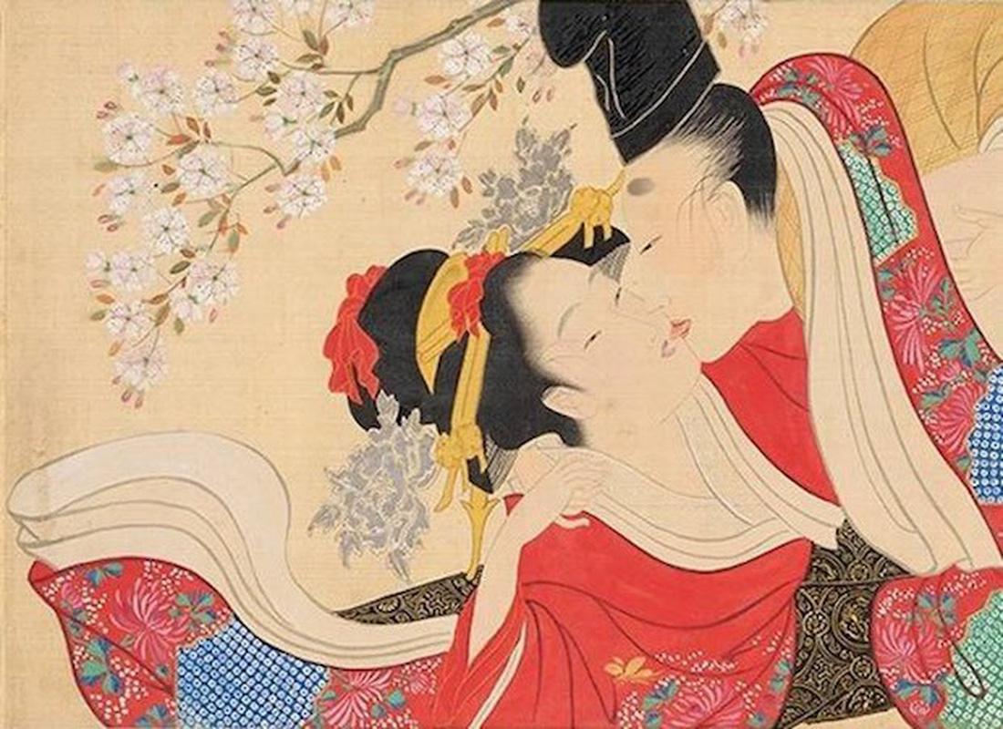 Xuân cung họa: Tình dục và khoái lạc trong nghệ thuật Nhật Bản - Ảnh 8.