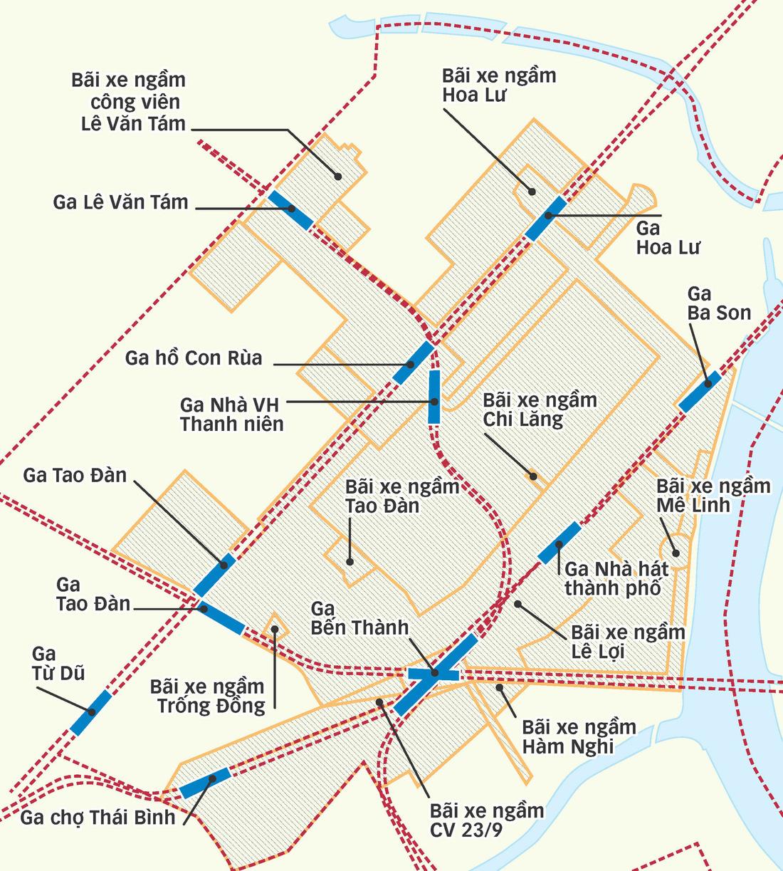 Lộ diện thành phố trong lòng đất TP.HCM - Ảnh 4.