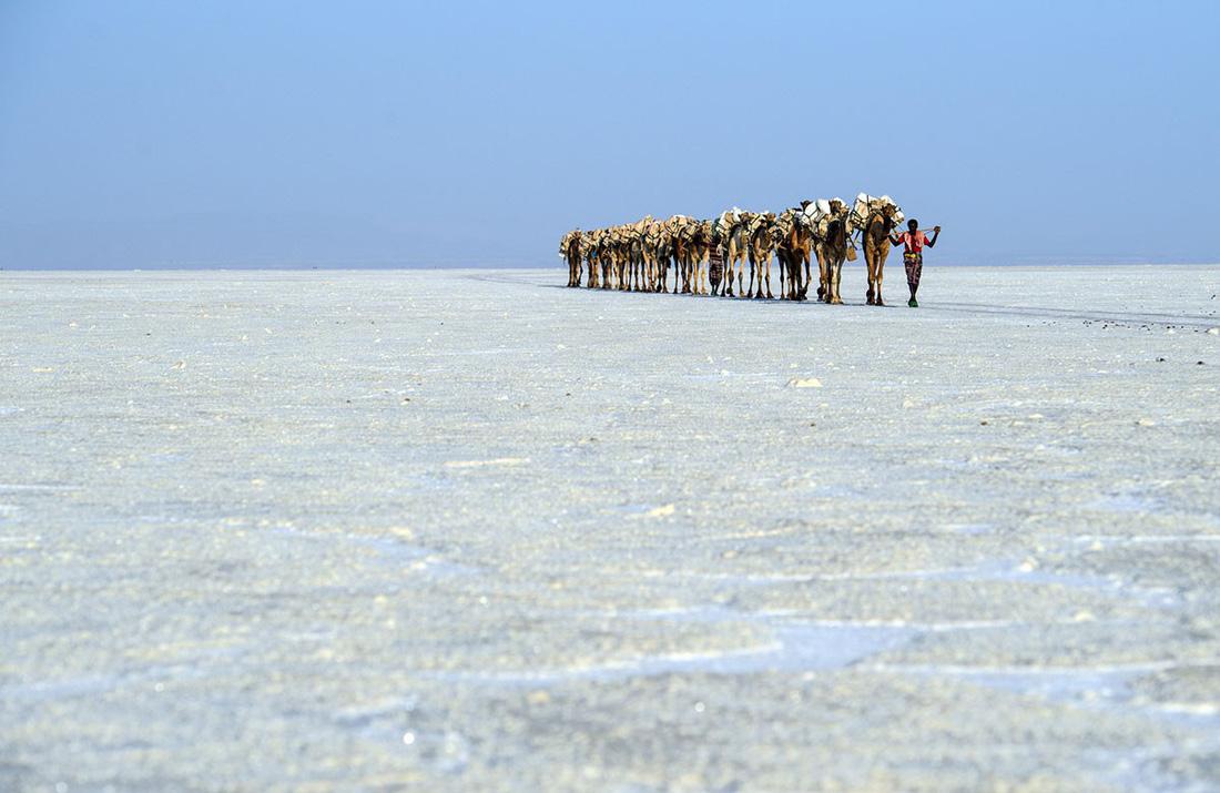 Đến Ethiopia khám phá 'vùng chảo' sa mạc Danakil - Ảnh 15.