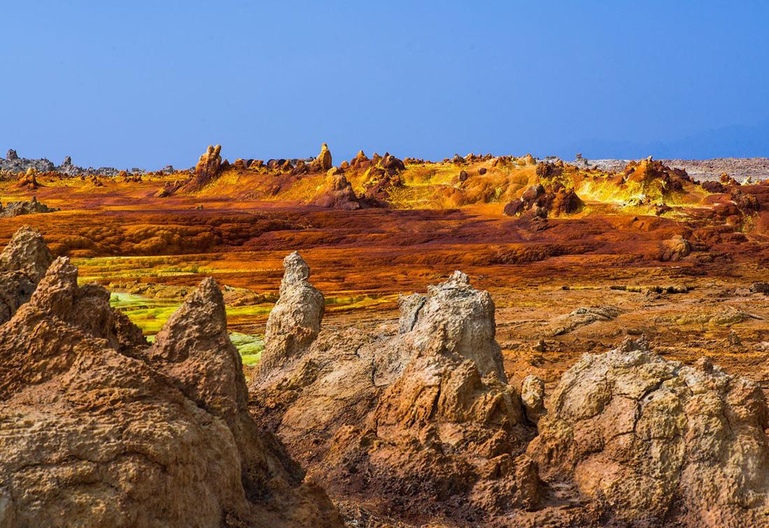 Đến Ethiopia khám phá 'vùng chảo' sa mạc Danakil - Ảnh 3.