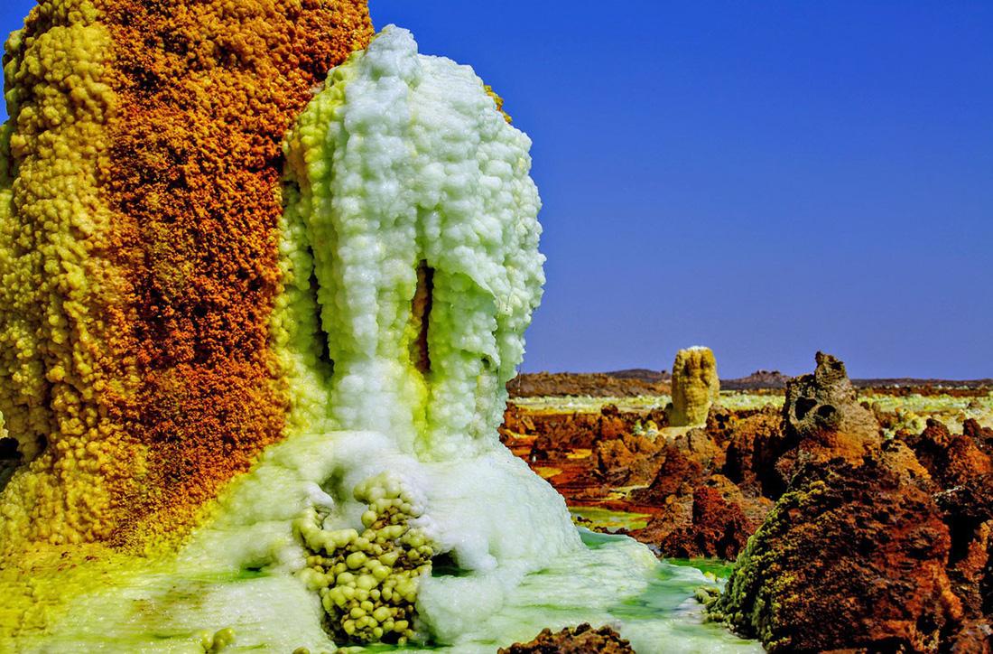 Đến Ethiopia khám phá 'vùng chảo' sa mạc Danakil - Ảnh 4.