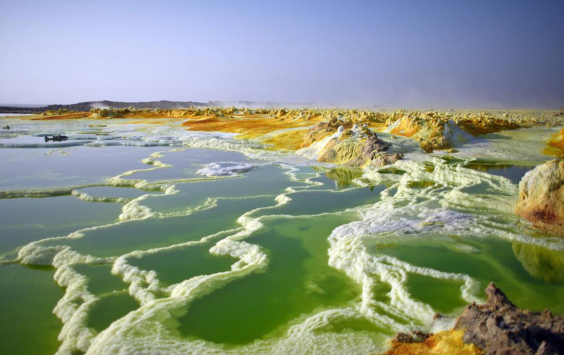 Đến Ethiopia khám phá 'vùng chảo' sa mạc Danakil - Ảnh 6.