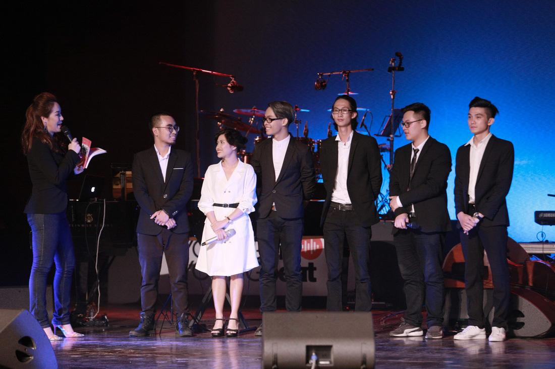 Anh Quân, Mỹ Linh, Nguyên Lê đắm say đêm The BandFest đầu tiên - Ảnh 4.