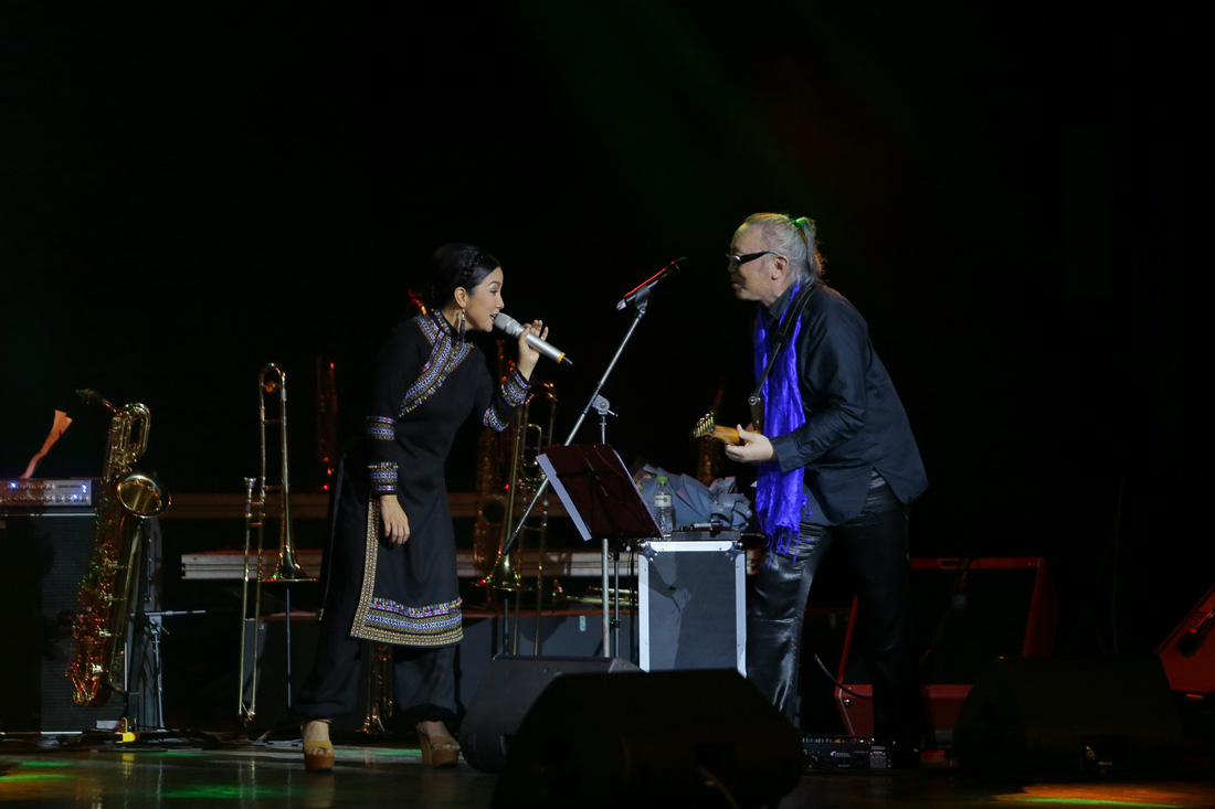 Anh Quân, Mỹ Linh, Nguyên Lê đắm say đêm The BandFest đầu tiên - Ảnh 7.