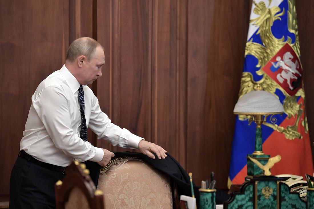 Toàn cảnh lễ nhậm chức tổng thống Nga lần 4 của ông Putin - Ảnh 4.