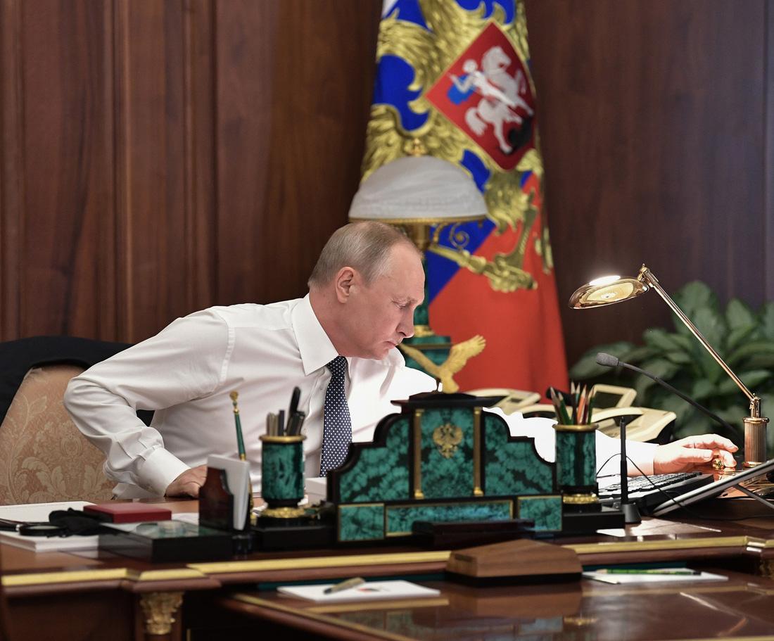 Toàn cảnh lễ nhậm chức tổng thống Nga lần 4 của ông Putin - Ảnh 3.