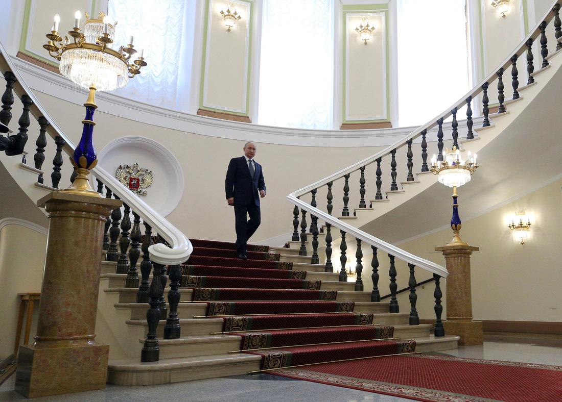 Toàn cảnh lễ nhậm chức tổng thống Nga lần 4 của ông Putin - Ảnh 5.