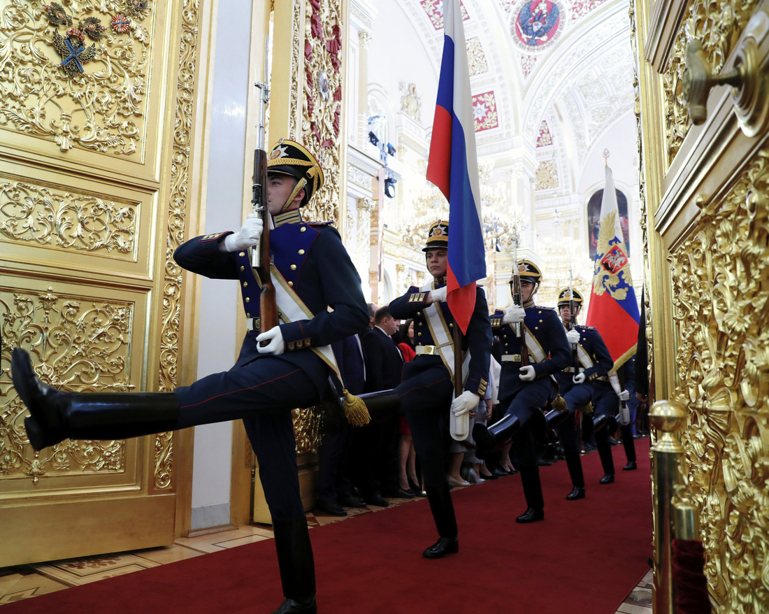 Toàn cảnh lễ nhậm chức tổng thống Nga lần 4 của ông Putin - Ảnh 1.