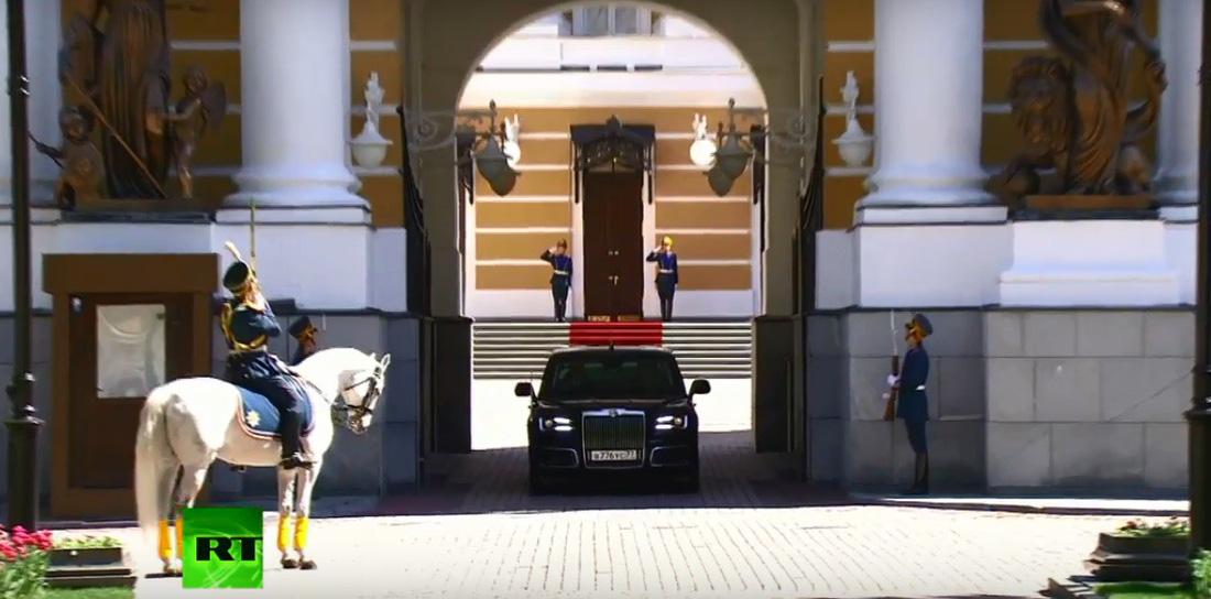 Toàn cảnh lễ nhậm chức tổng thống Nga lần 4 của ông Putin - Ảnh 6.