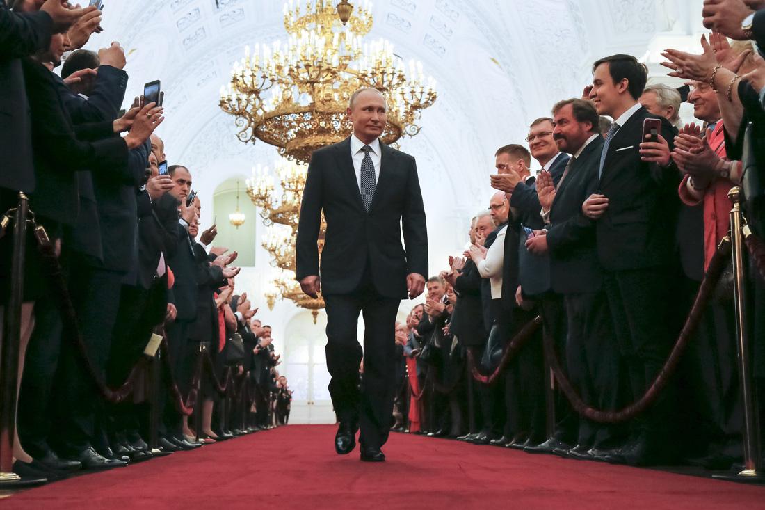 Toàn cảnh lễ nhậm chức tổng thống Nga lần 4 của ông Putin - Ảnh 10.