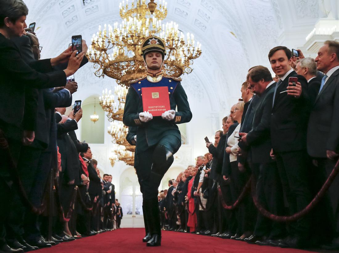 Toàn cảnh lễ nhậm chức tổng thống Nga lần 4 của ông Putin - Ảnh 2.