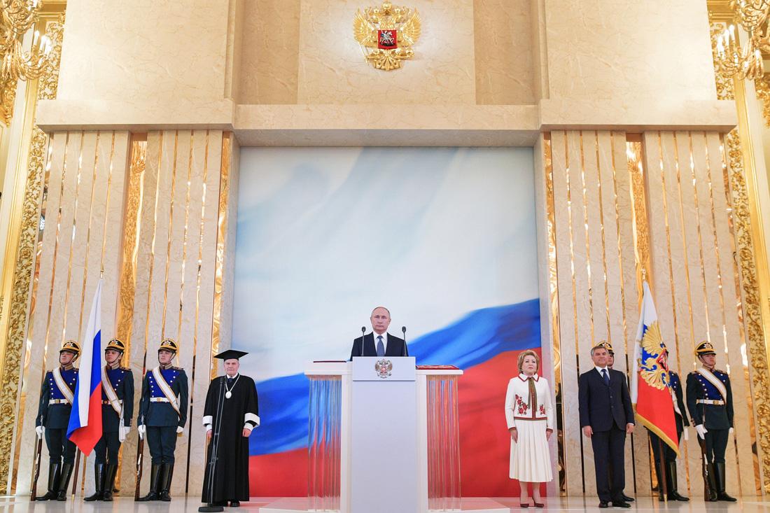 Toàn cảnh lễ nhậm chức tổng thống Nga lần 4 của ông Putin - Ảnh 11.
