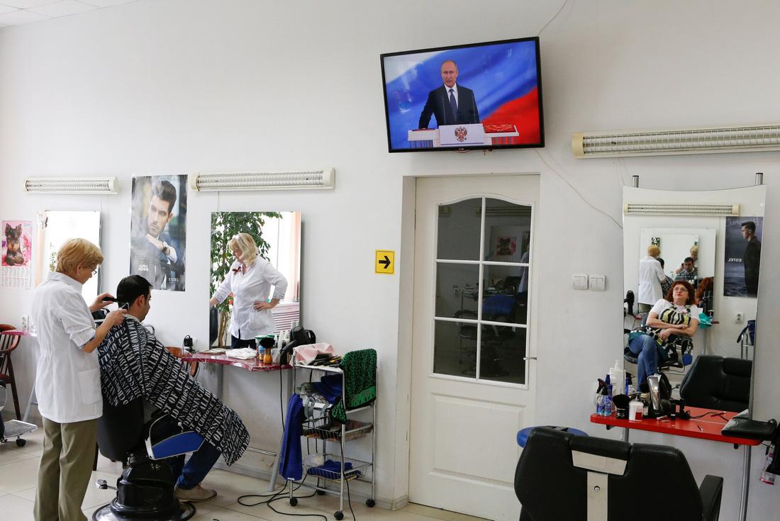 Toàn cảnh lễ nhậm chức tổng thống Nga lần 4 của ông Putin - Ảnh 14.