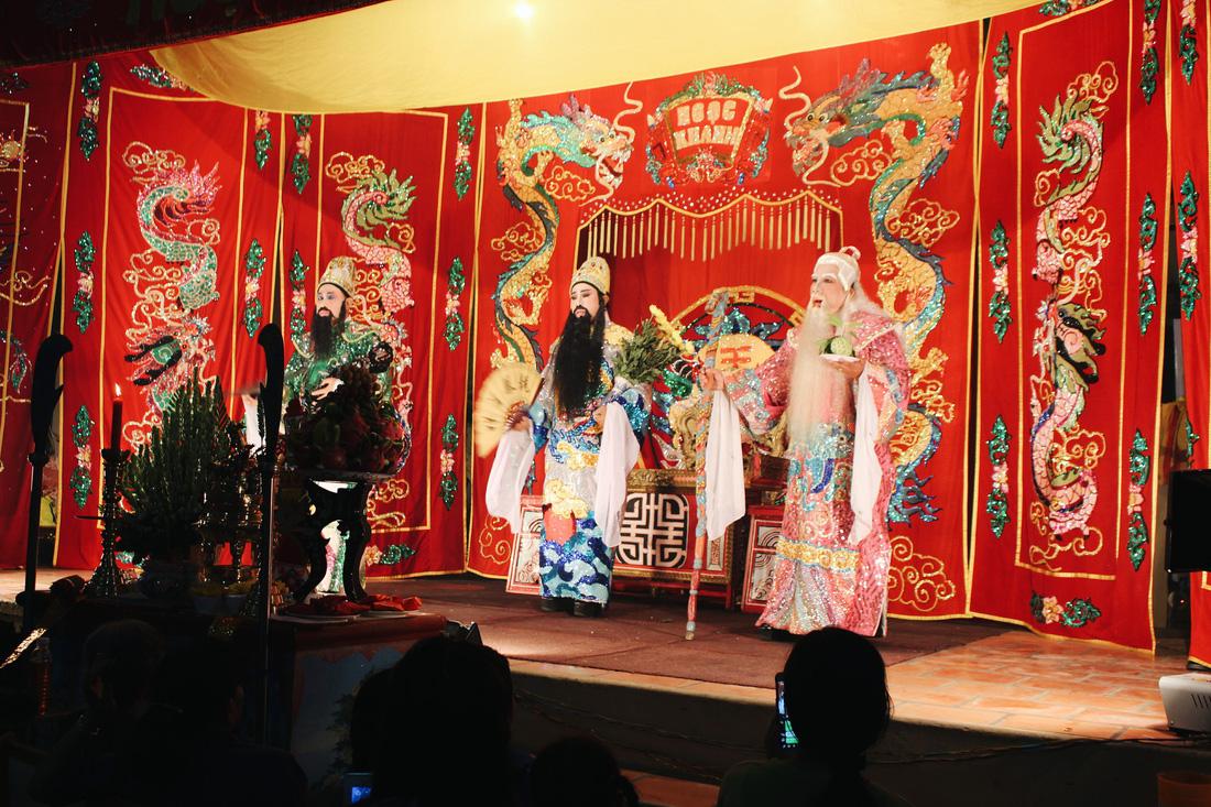 Tuồng cổ Ngọc Khanh - đoàn hát bội hiếm hoi ở Sài Gòn - Ảnh 17.