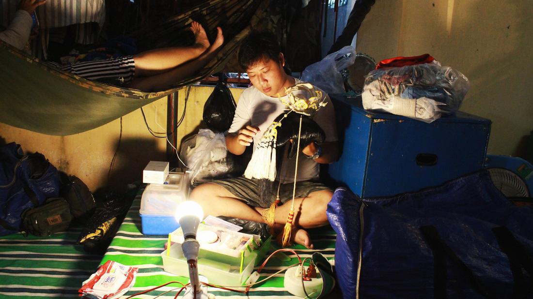Tuồng cổ Ngọc Khanh - đoàn hát bội hiếm hoi ở Sài Gòn - Ảnh 7.