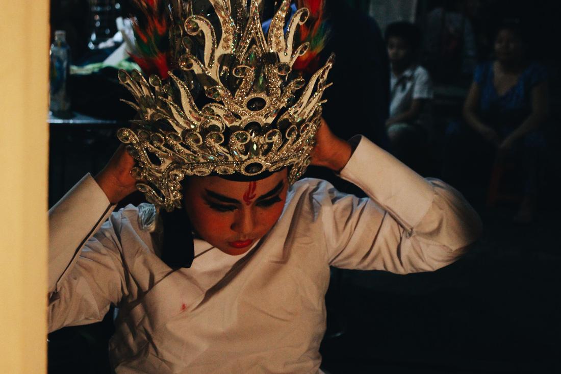 Tuồng cổ Ngọc Khanh - đoàn hát bội hiếm hoi ở Sài Gòn - Ảnh 14.