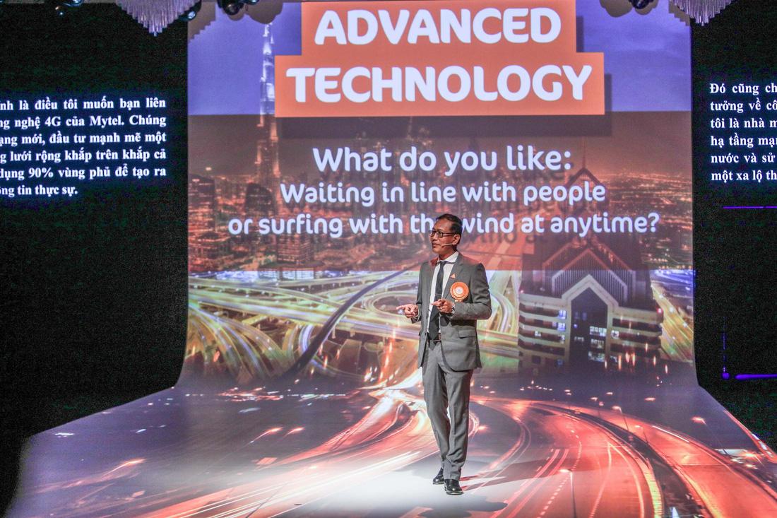 Show trình diễn công nghệ tại lễ khai trương Mytel - Ảnh 3.
