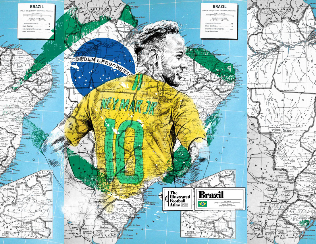 Tình yêu bóng đá và bản đồ độc lạ của fan ruột World Cup - Ảnh 10.