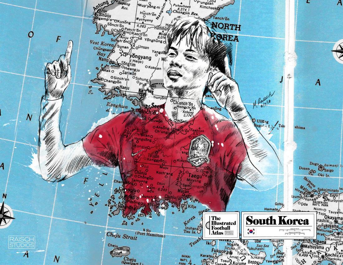 Tình yêu bóng đá và bản đồ độc lạ của fan ruột World Cup - Ảnh 13.