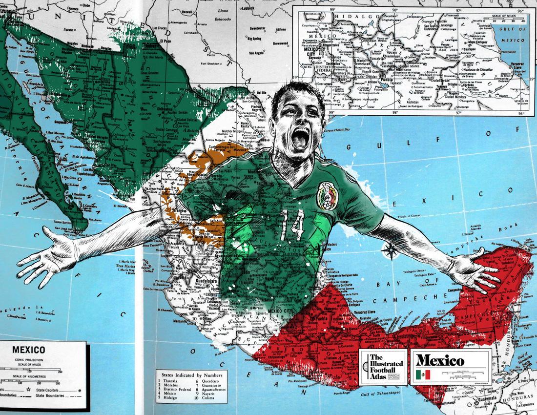 Tình yêu bóng đá và bản đồ độc lạ của fan ruột World Cup - Ảnh 6.