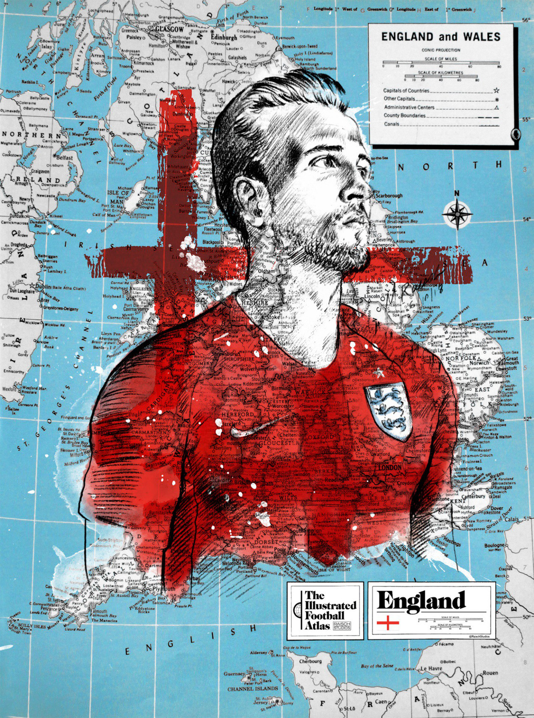 Tình yêu bóng đá và bản đồ độc lạ của fan ruột World Cup - Ảnh 9.