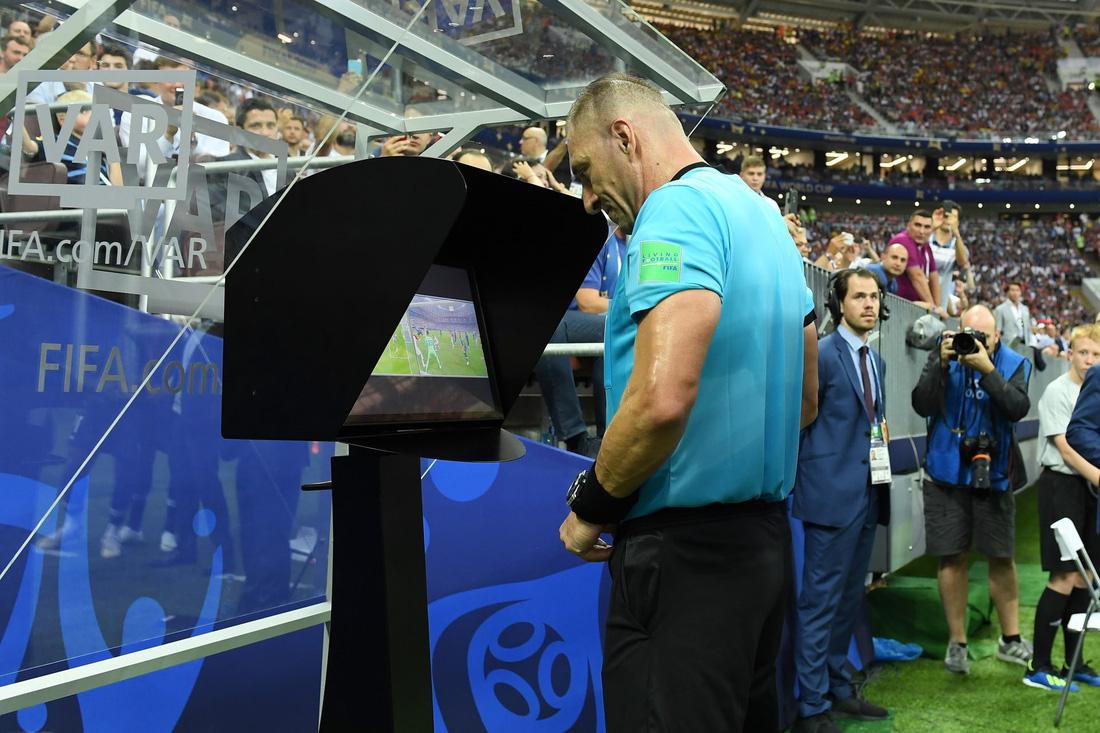 Những hình ảnh ấn tượng nhất đêm chung kết Croatia - Pháp - Ảnh 15.