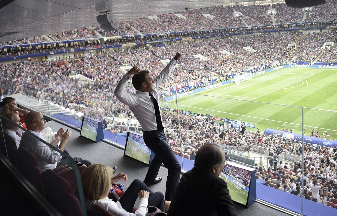 Những hình ảnh ấn tượng nhất đêm chung kết Croatia - Pháp - Ảnh 17.