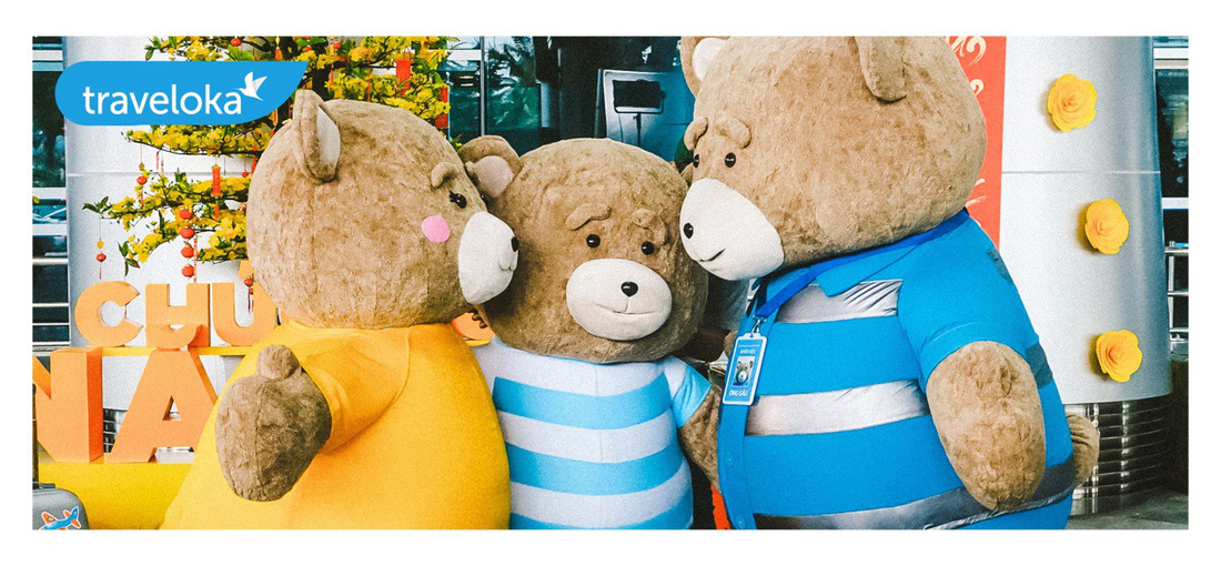 Gia đình gấu mập dễ thương làm xôn xao sân bay Đà Nẵng - Ảnh 5.