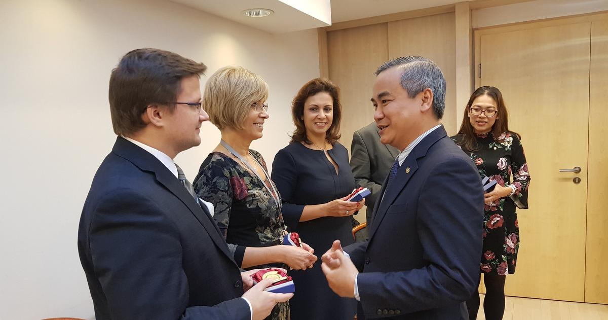 Saigontourist hợp tác phát triển thị trường du lịch Hungary