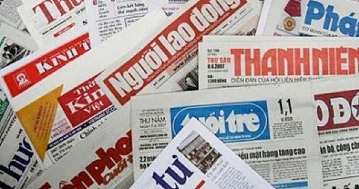 Thúc bộ Thông tin truyền thông trình quy hoạch báo chí