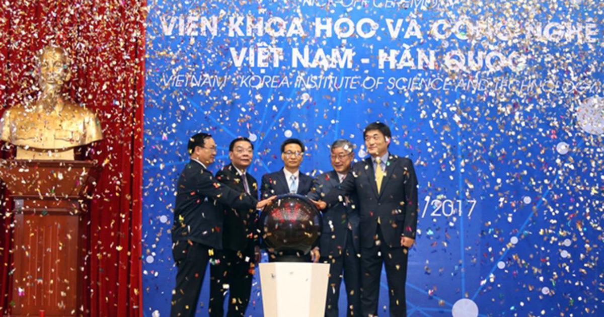 Viện V-KIST chính thức được khởi động