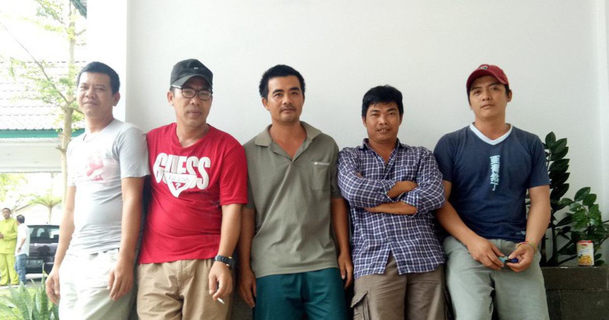 Đề nghị trả tự do cho các thuyền trưởng bị Indonesia bắt giữ