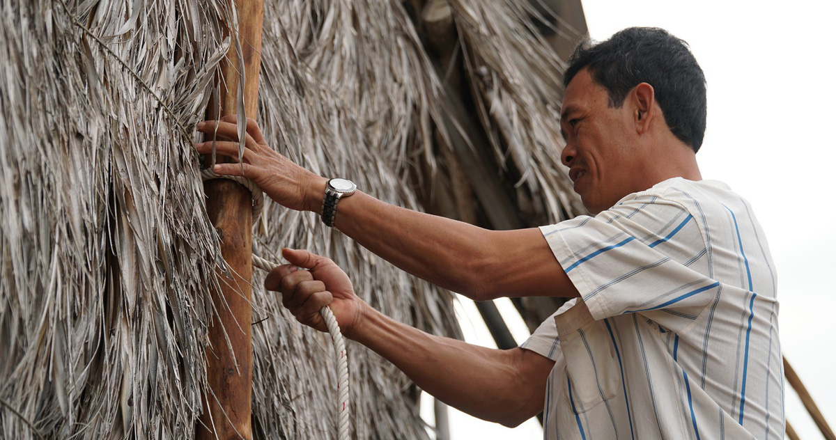 Video người dân Cà Mau nói về nỗi sợ bão