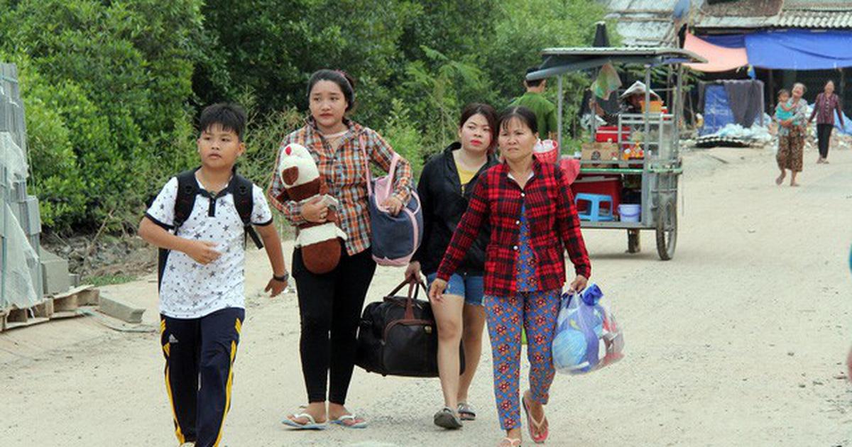Đã di dời hơn 90 ngàn người dân đi tránh bão Tembin