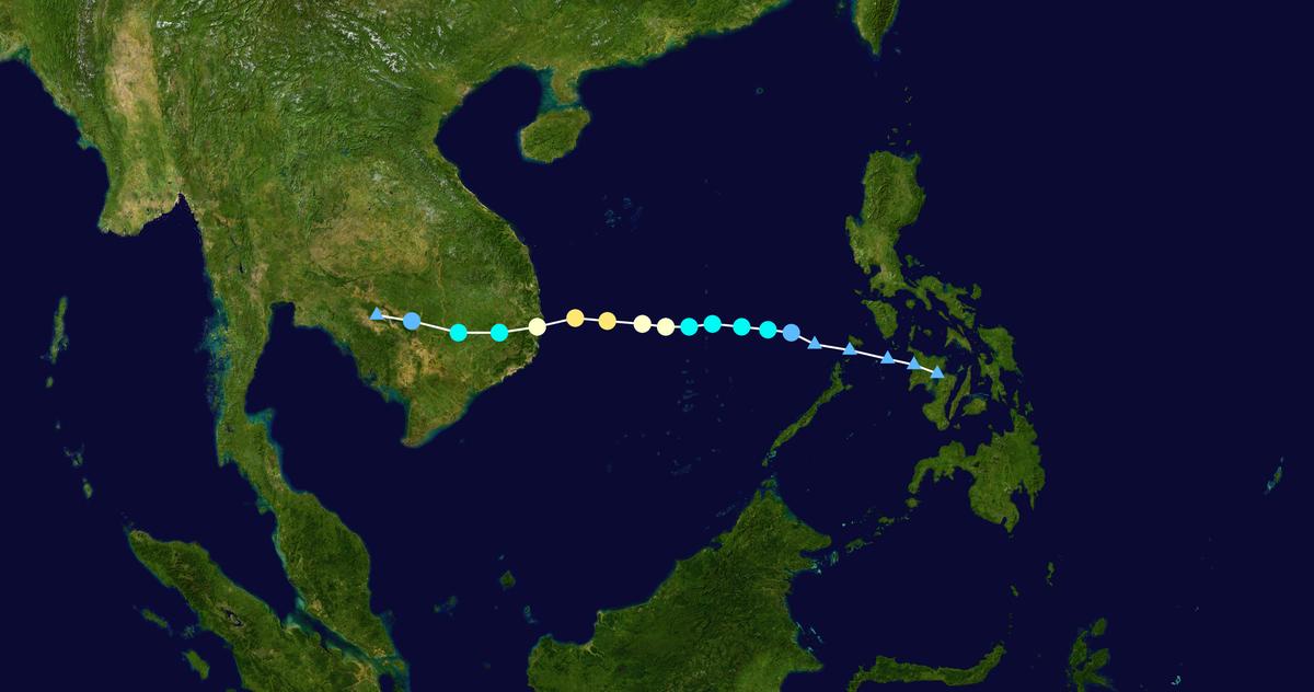 16 cơn bão vào Biển Đông, năm 2017 ghi kỷ lục về thiên tai