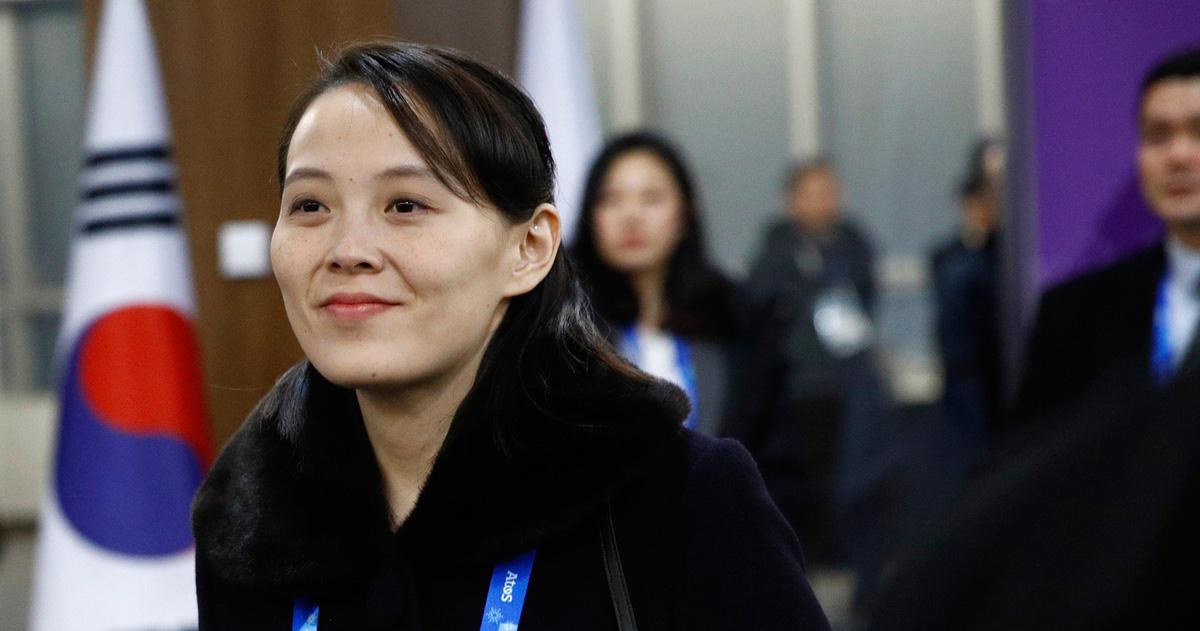 Em gái ông Kim Jong Un được săn đón như sao điện ảnh