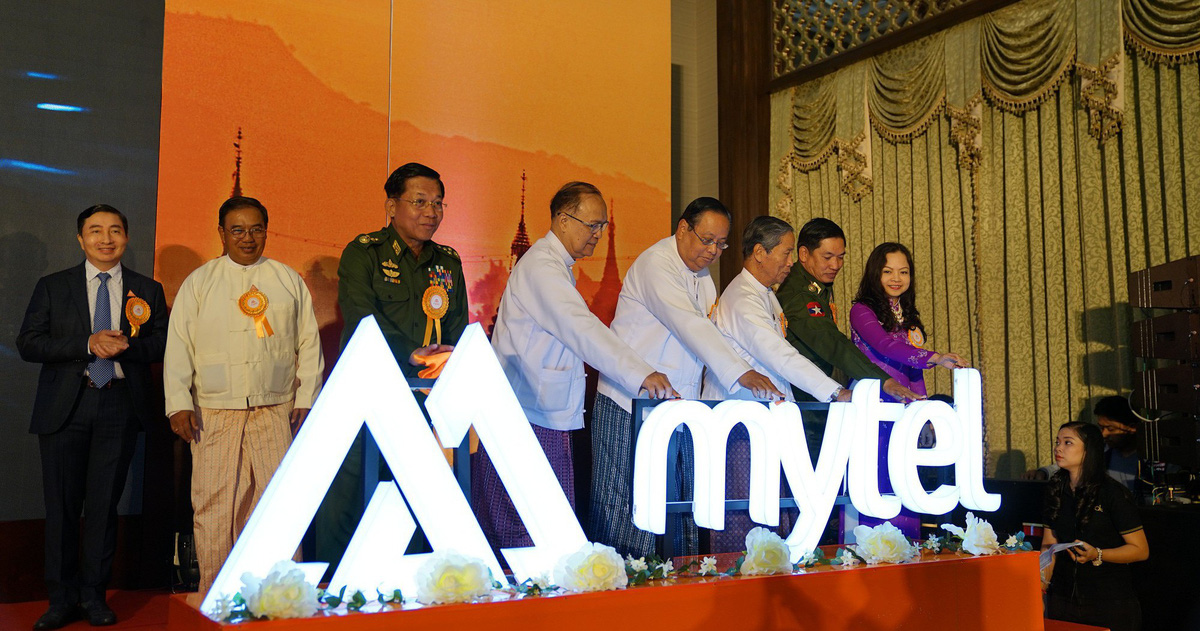 Thực hiện thành công cuộc gọi đầu tiên của Viettel tại Myanmar