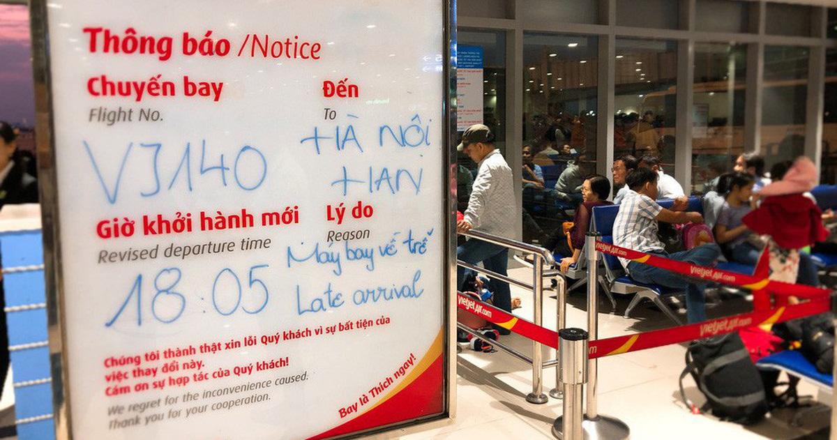 Cục Hàng không yêu cầu các hãng phải bay đúng giờ