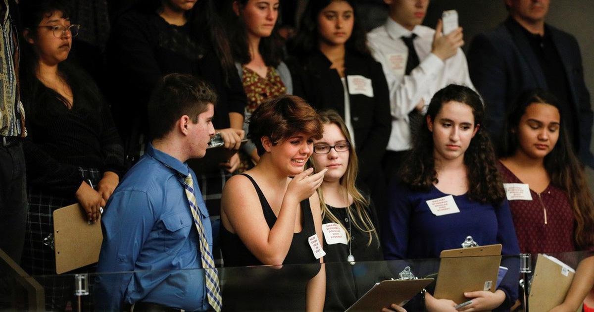 GIới trẻ Mỹ quyết chống lại súng đạn