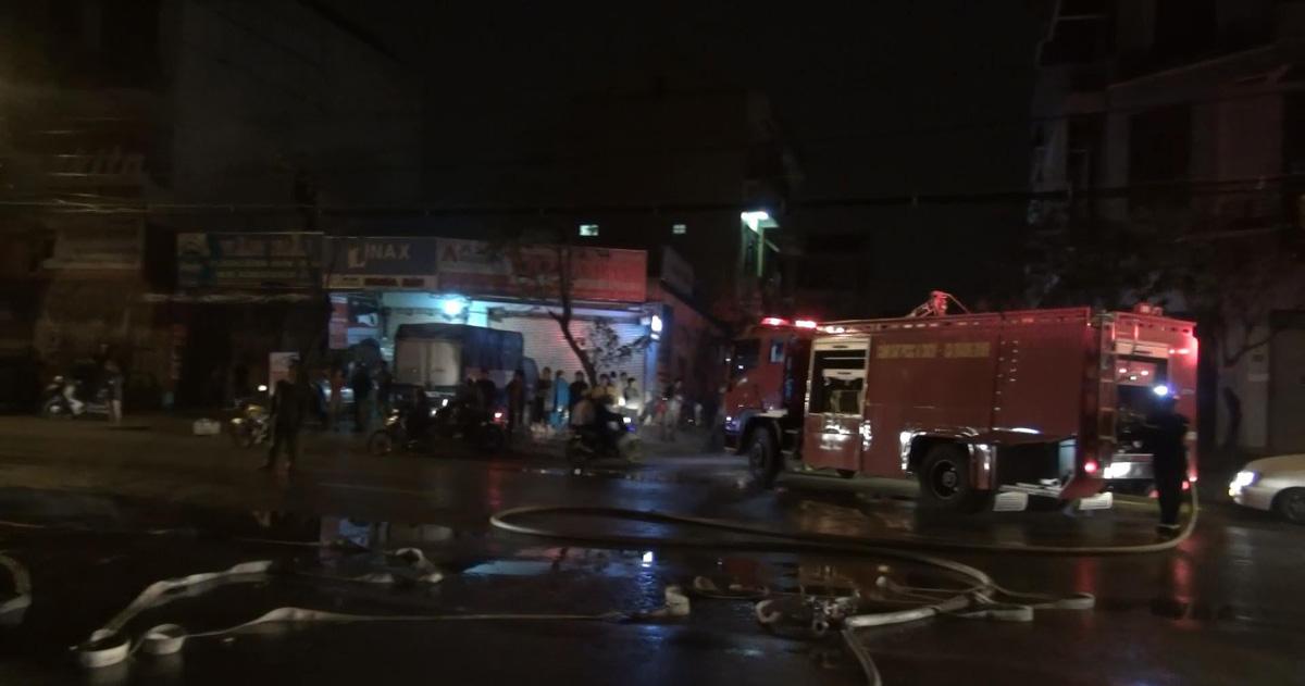 Phòng giao dịch VP Bank Đồng Hới bị thiêu rụi trong đêm
