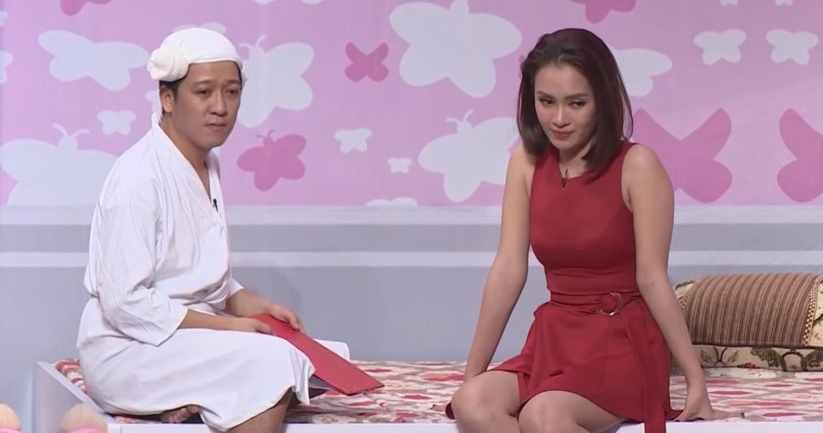 Chính Nhã Phương 'mách bài' cho Ái Phương 'trị' Trường Giang