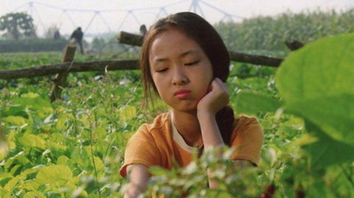 Nét thơ ngây của cô bé Hoài Linh