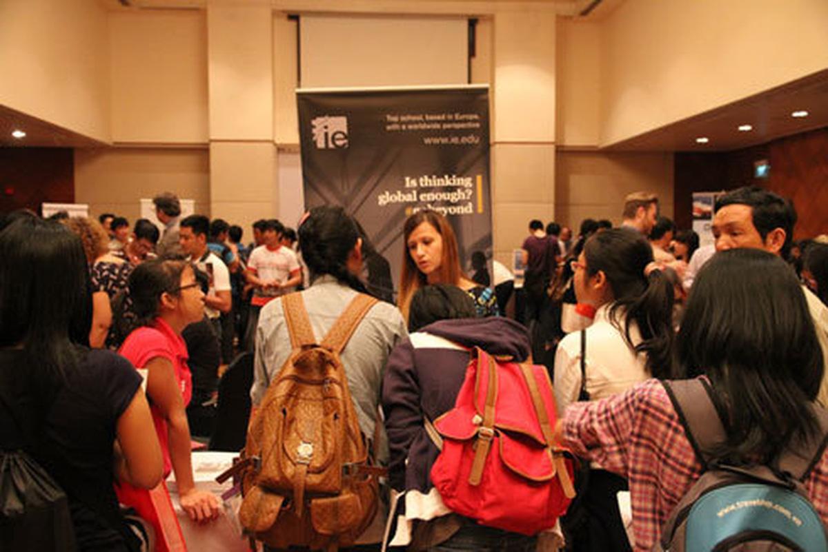 Sự kiện toàn cầu hóa giáo dục với World Grad School Tour tại tp. HCM