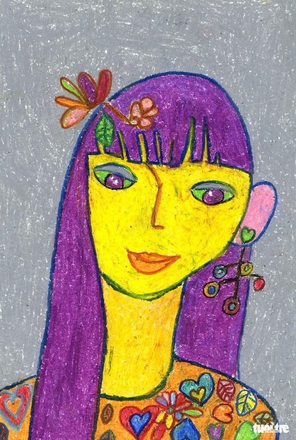 Những bức tranh hi vọng vẽ từ giường bệnh nhi ung thư - Ảnh 11.