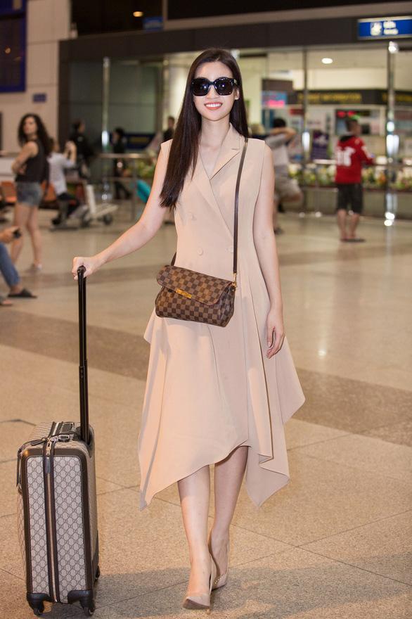 Đỗ Mỹ Linh rạng rỡ về nước sau một tháng ở đấu trường Miss World - Ảnh 4.