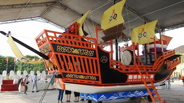 Người Nhật tặng Châu ấn thuyền cho Hội An - Ảnh 1.