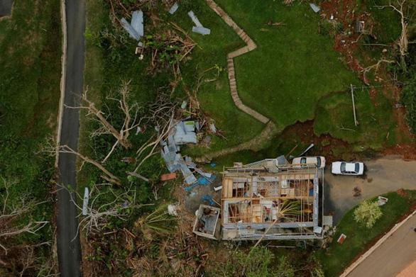 Sốc với ảnh thảm họa thiên nhiên dữ dội năm 2017 - Ảnh 2.