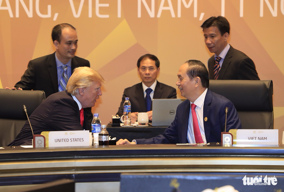 Các nhà lãnh đạo kinh tế bắt đầu phiên họp quan trọng nhất APEC - Ảnh 2.