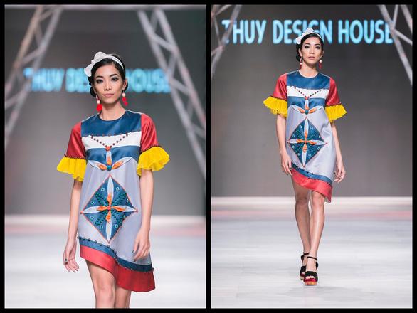 Ngô Thanh Vân đưa thời trang Cô Ba Sài Gòn lên sàn catwalk  - Ảnh 5.